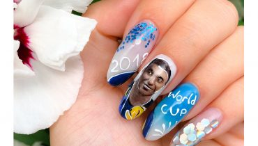 Second Place – World Cup NSI Nail Art Challenge