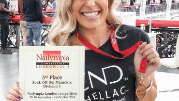 Bronze Medal in Nailympia 2018