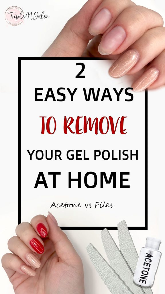 how to remove gel polish at home safely youtube tutorial 2 easy ways