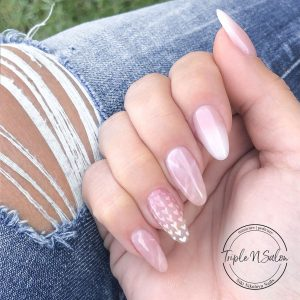 love yourself pink and white ombre with hearts