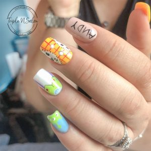 toy story disney nails