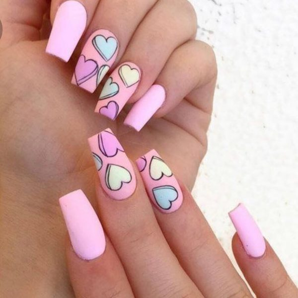 Perfect Valentine's Day Nails