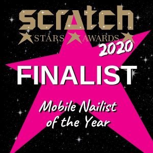 scratch magazine london nail tech award winning mobile nailist of the year 2020