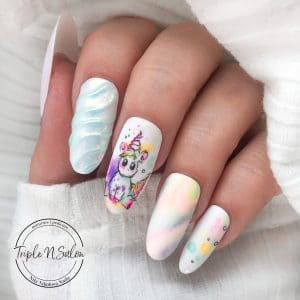 unicorn nails youtube tutorial